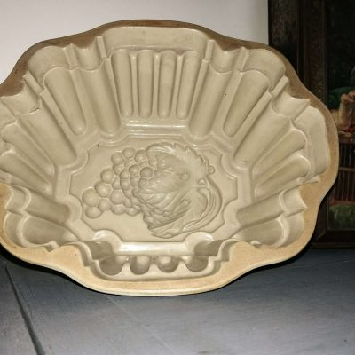 A056a- antieke grote puddingvorm