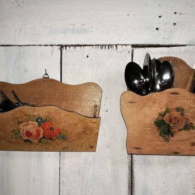 W004b- Franse houten bakjes