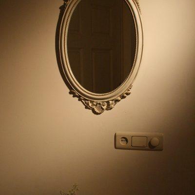 W119 - Brocante spiegel