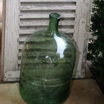 A002a- franse glazen wijnfles