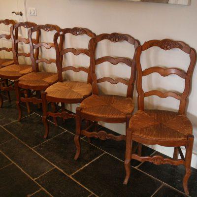 M069- antieke Franse biedermeier stoelen