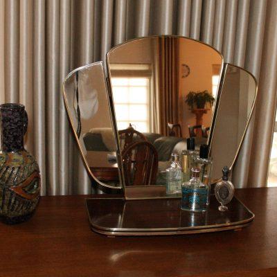 W042- vintage kapspiegel