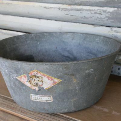 T036- oude Franse zinken teil, wasteil