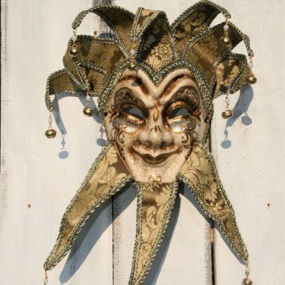 W037C- venetiaans masker man