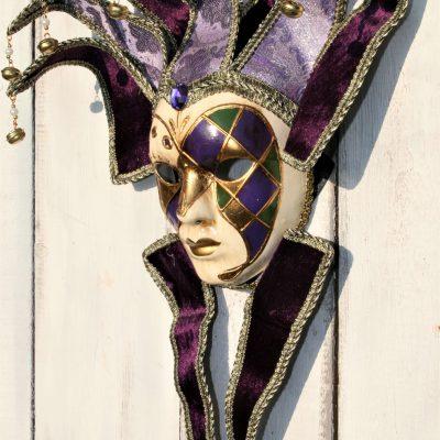 W037B- venetiaans masker vrouw