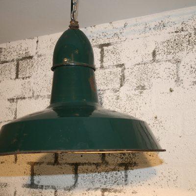V018 - Robuuste industriële lamp groen