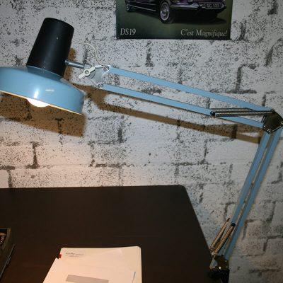 V020 - Vintage industriële bureaulamp