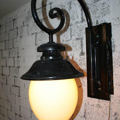 V034 - Antieke stationslamp