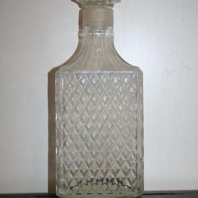 A091 - Vintage glazen karaf