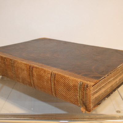 "W153 - Gedichtenboek ""Vader Cats"" 1861"