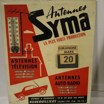 W195 - Reclamethermometer