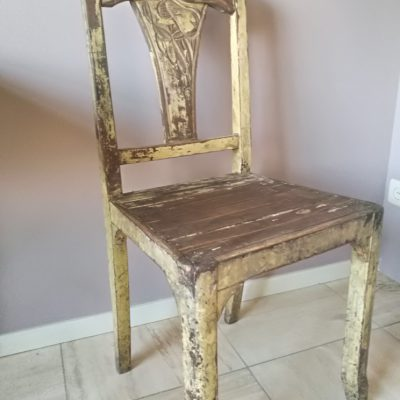 M029D- antiek franse stoel