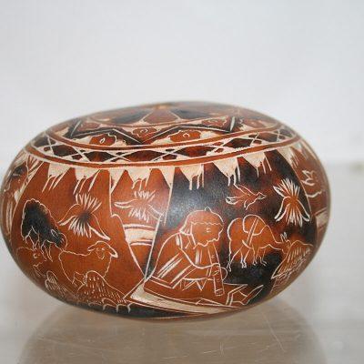 W176 - Afrikaanse kalebas rammelaar