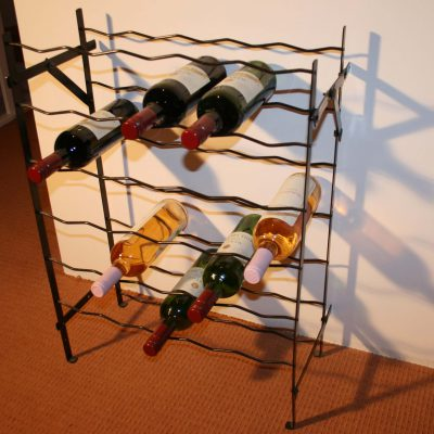 W071-Frans brocant wijnrek